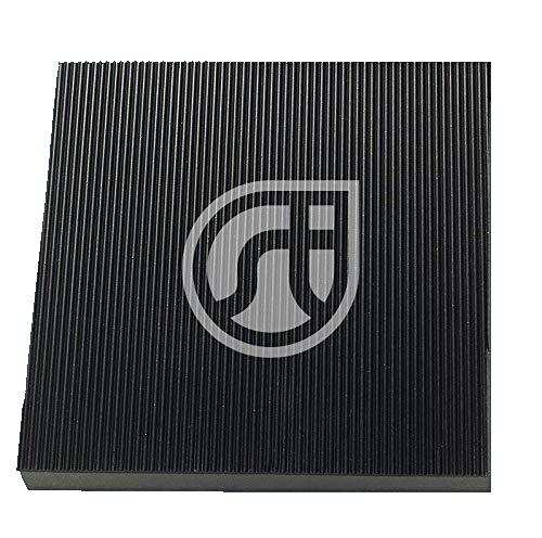 anti-vibration pump mounting pad